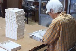 箱折・シール貼・袋入箱折り・箸袋詰・活性炭パック1
